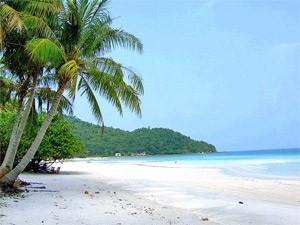 weißer Strand auf Phu Quoc
