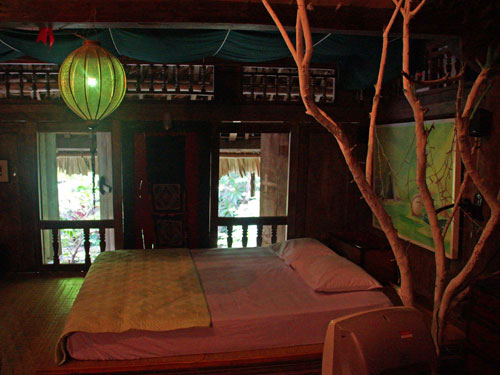 Eines der liebevoll eingerichteten Zimmer