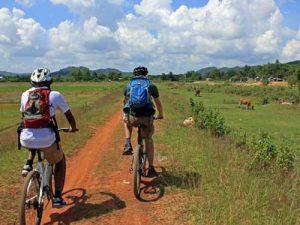 Fahrradtour in der Umgebung vom Nam Cat Tien Nationalpark