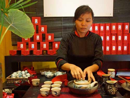 Hoi An Ausflüge: Teezeremonie in der Lifestart Foundation