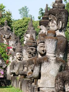 Buddha Park bei Vientiane