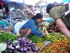 Lokaler Markt in Luang Prabang
