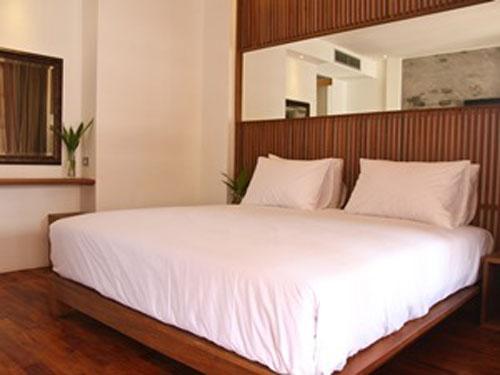 Zimmer in der Upgrade-Unterkunft in Luang Prabang