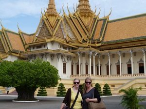 Der Royal Palace in Phnom Penh