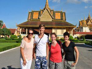 Stadtführung in Phnom Penh bei Rundreise
