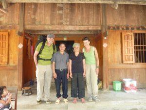 Unsere Kunden im Homestay in Vietnam