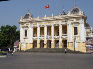 Kolonial Gebäude in Vietnam