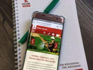 In Vietnam Mobile Daten auf dem Handy haben.