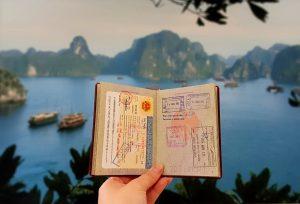 Vietnam Visa im deutschen Reisepass