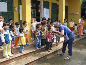 Kindergarten Klasse in Ky Son