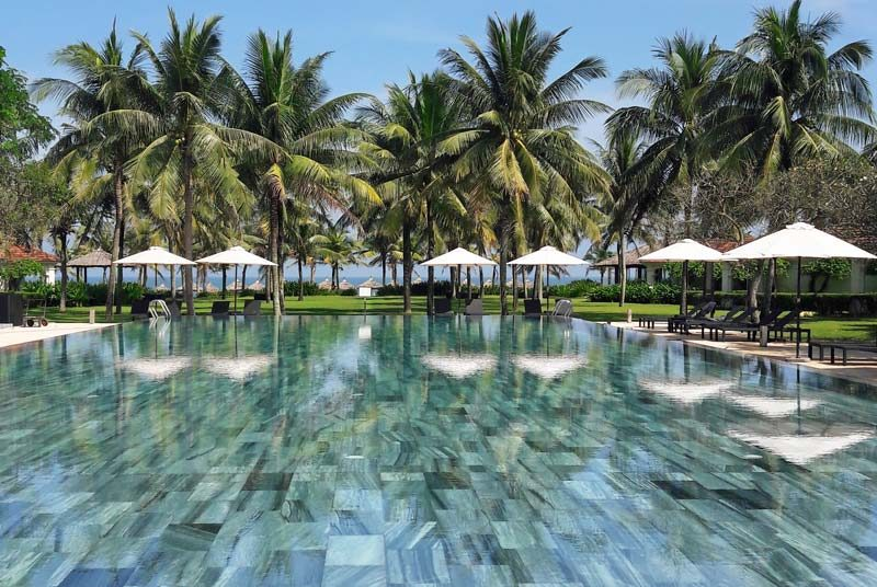 Hoi An Strandhotel mit Pool Vietnam