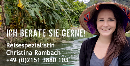 Reisespezialistin Christina Rambach