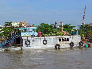 Mekong Delta: schwimmender Markt