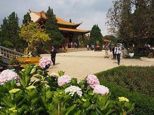 Tempel in Dalat Vietnam