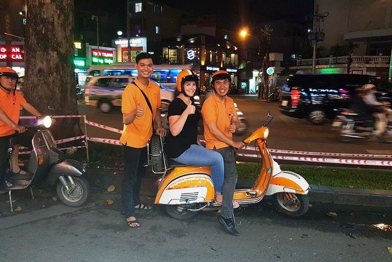 Vespa tour in Saigon