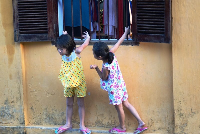 Kinder in Hoi An