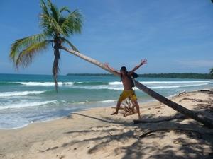 Strand in Cahuita an der Karibikküste