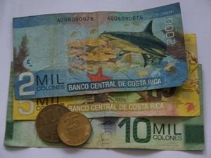 Die Währung von Costa Rica