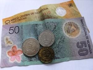 Die Währung in Nicaragua