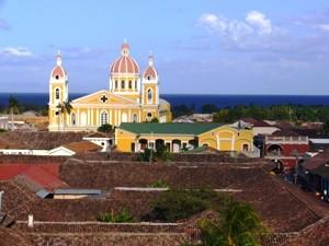 Koloniales Granada in Nicaragua