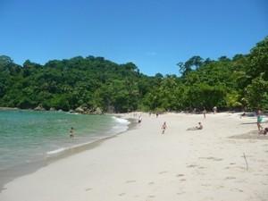 Der Strand in Manuel Antonio
