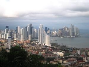 Die Skyline von Panama City