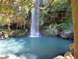 Der Wasserfall im Rincon de la Vieja Nationalpark