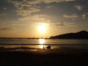 Sonnenuntergang in San Juan del Sur