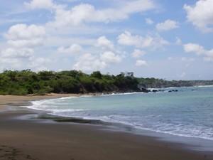 Strand auf der Azuero Halbinsel