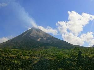 Aussicht auf den Vulkan Arenal