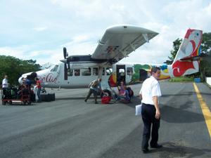 Flieger in Costa Rica