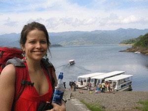 Fotopause am Arenalsee während Ihrer Costa Rica Mietwagenrundreise