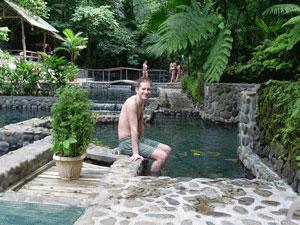 Entspannen in den Heißen Quellen in La Fortuna