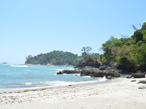 Strand bei Manuel Antonio - Highlights in Costa Rica