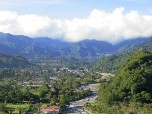 Panoramablick in Boquete bei Mittelamerika Rundreise