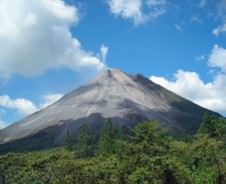 Heiße Quellen am Vulkan Arenal