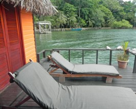 Veranda auf den Bocas