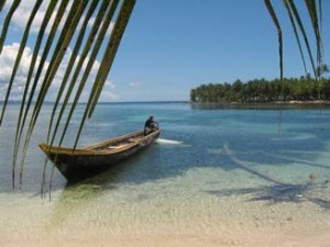 Kanu auf den San Blas Inseln