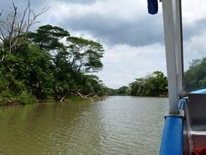 Mit dem Boot über den Rio San Juan