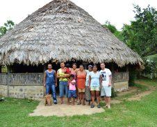 Zuhause im Bribri-Dorf