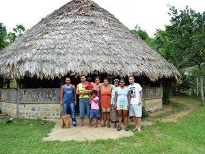 im Bribri Dorf