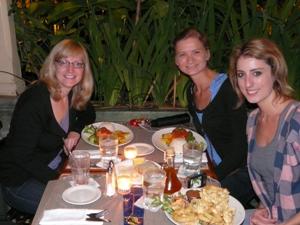 Abendessen in San Jose