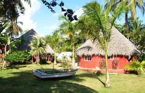 Die Unterkunft auf den Corn Islands
