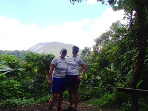 Besuch beim Vulkan Arenal