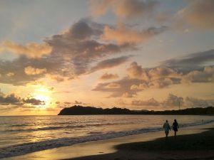 Sonnenuntergang an der Pazifikkueste
