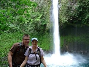 Wasserfall in Costa Rica
