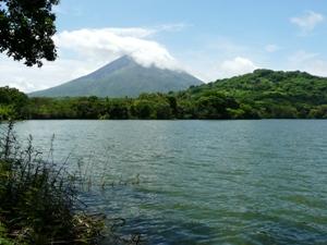 Die Insel Ometepe im Nicaragua See