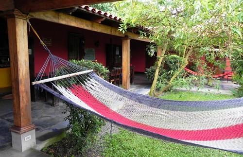 Hängematte am Rincon in Costa Rica