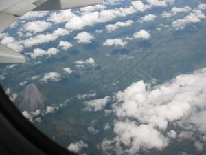 Rückflug von Costa Rica