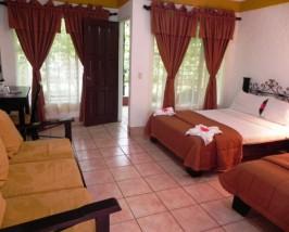 Die Komfortunterkunft am Rincon Nationalpark
